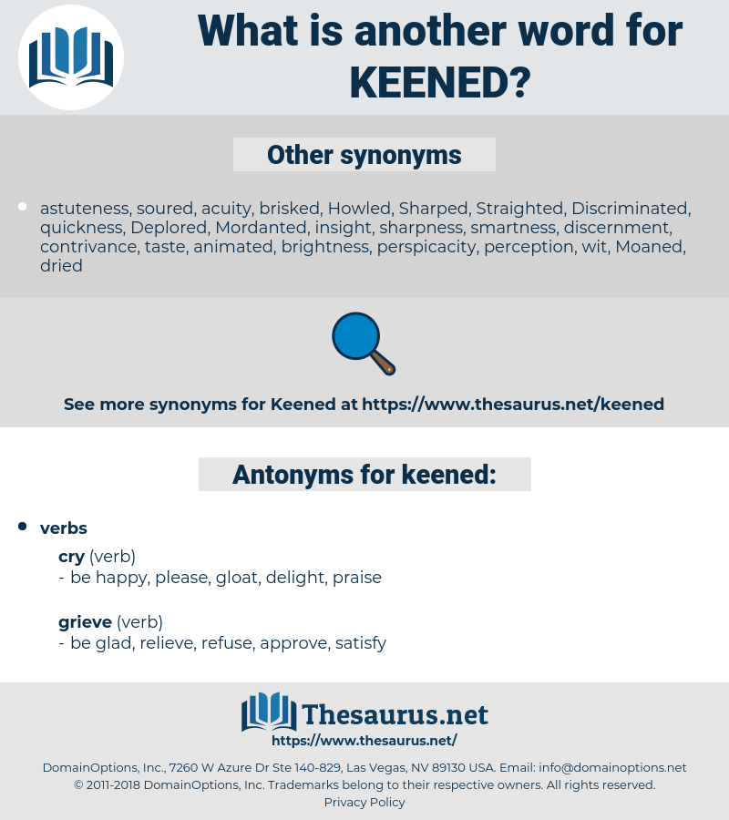 keened, synonym keened, another word for keened, words like keened, thesaurus keened