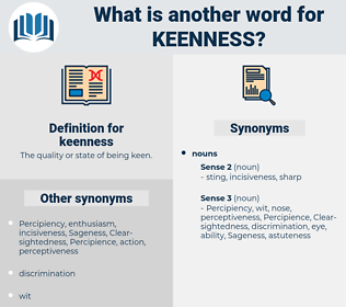 keenness, synonym keenness, another word for keenness, words like keenness, thesaurus keenness