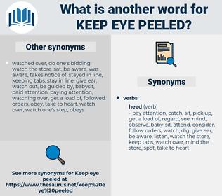 keep eye peeled, synonym keep eye peeled, another word for keep eye peeled, words like keep eye peeled, thesaurus keep eye peeled