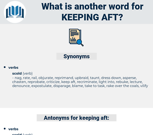 keeping aft, synonym keeping aft, another word for keeping aft, words like keeping aft, thesaurus keeping aft
