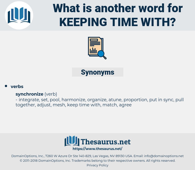 keeping time with, synonym keeping time with, another word for keeping time with, words like keeping time with, thesaurus keeping time with