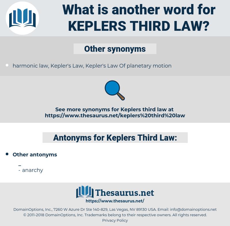 Keplers Third Law, synonym Keplers Third Law, another word for Keplers Third Law, words like Keplers Third Law, thesaurus Keplers Third Law