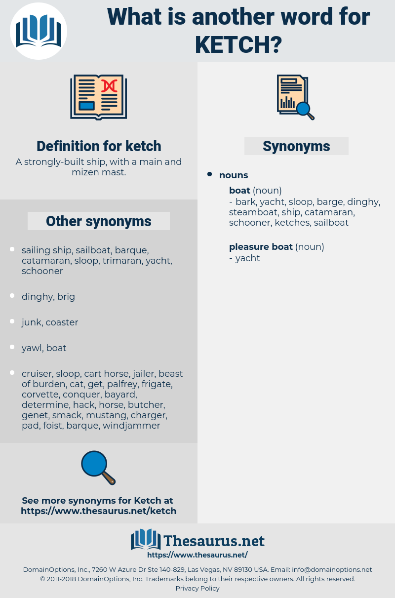 ketch, synonym ketch, another word for ketch, words like ketch, thesaurus ketch