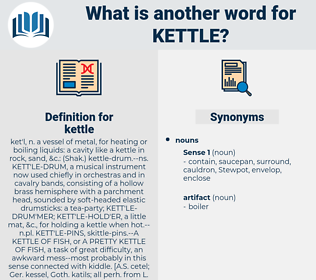 kettle, synonym kettle, another word for kettle, words like kettle, thesaurus kettle