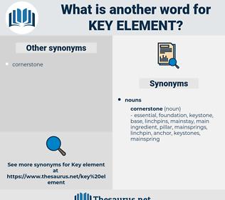 key element, synonym key element, another word for key element, words like key element, thesaurus key element