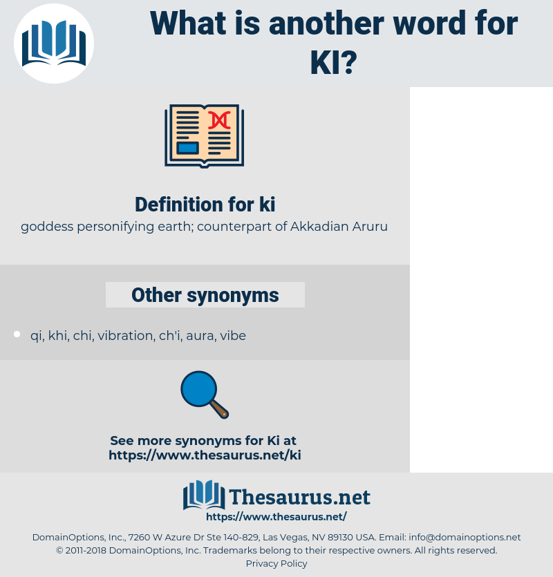 ki, synonym ki, another word for ki, words like ki, thesaurus ki