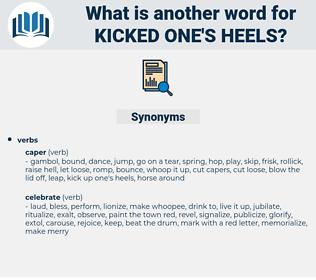 kicked one's heels, synonym kicked one's heels, another word for kicked one's heels, words like kicked one's heels, thesaurus kicked one's heels