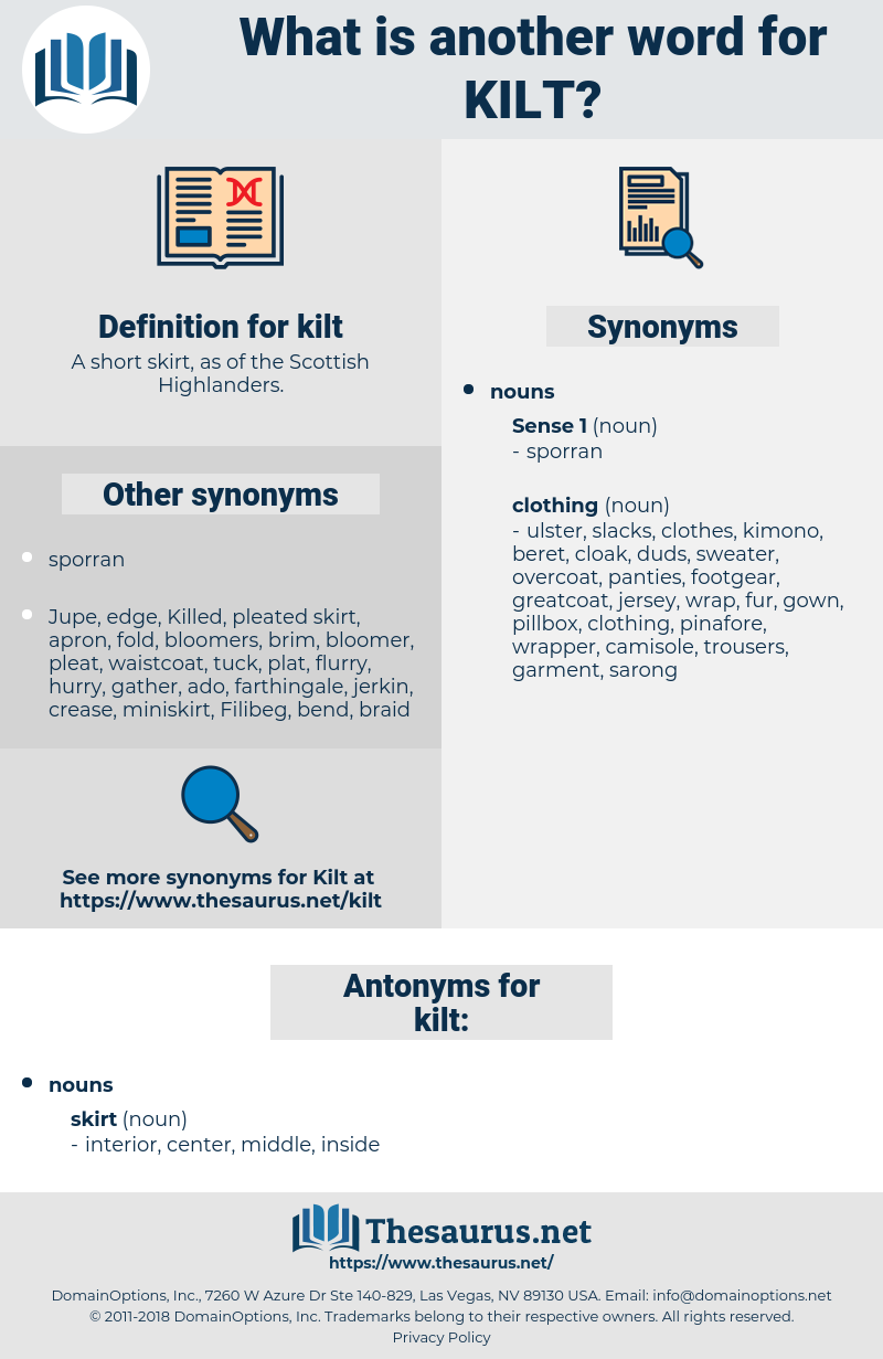 kilt, synonym kilt, another word for kilt, words like kilt, thesaurus kilt