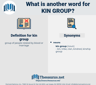 kin group, synonym kin group, another word for kin group, words like kin group, thesaurus kin group