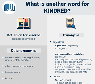 kindred, synonym kindred, another word for kindred, words like kindred, thesaurus kindred