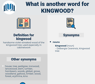 kingwood, synonym kingwood, another word for kingwood, words like kingwood, thesaurus kingwood