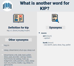 kip, synonym kip, another word for kip, words like kip, thesaurus kip
