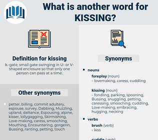 kissing, synonym kissing, another word for kissing, words like kissing, thesaurus kissing