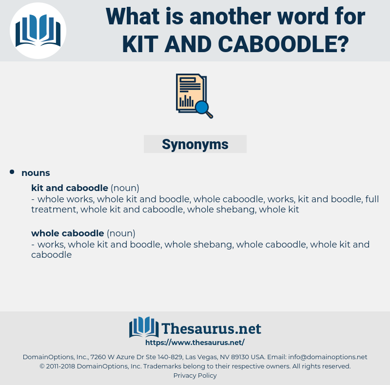 kit and caboodle, synonym kit and caboodle, another word for kit and caboodle, words like kit and caboodle, thesaurus kit and caboodle