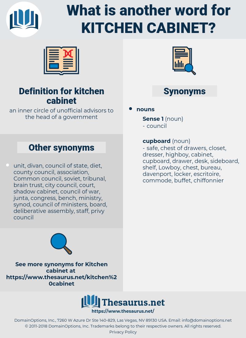 kitchen cabinet, synonym kitchen cabinet, another word for kitchen cabinet, words like kitchen cabinet, thesaurus kitchen cabinet