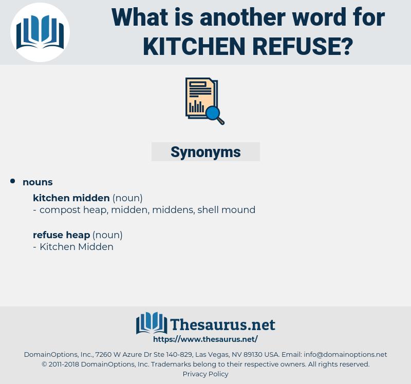 kitchen refuse, synonym kitchen refuse, another word for kitchen refuse, words like kitchen refuse, thesaurus kitchen refuse