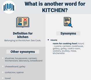 kitchen, synonym kitchen, another word for kitchen, words like kitchen, thesaurus kitchen