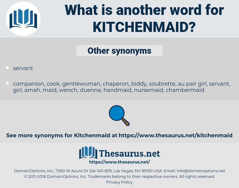 Kitchenmaid, synonym Kitchenmaid, another word for Kitchenmaid, words like Kitchenmaid, thesaurus Kitchenmaid