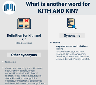 kith and kin, synonym kith and kin, another word for kith and kin, words like kith and kin, thesaurus kith and kin