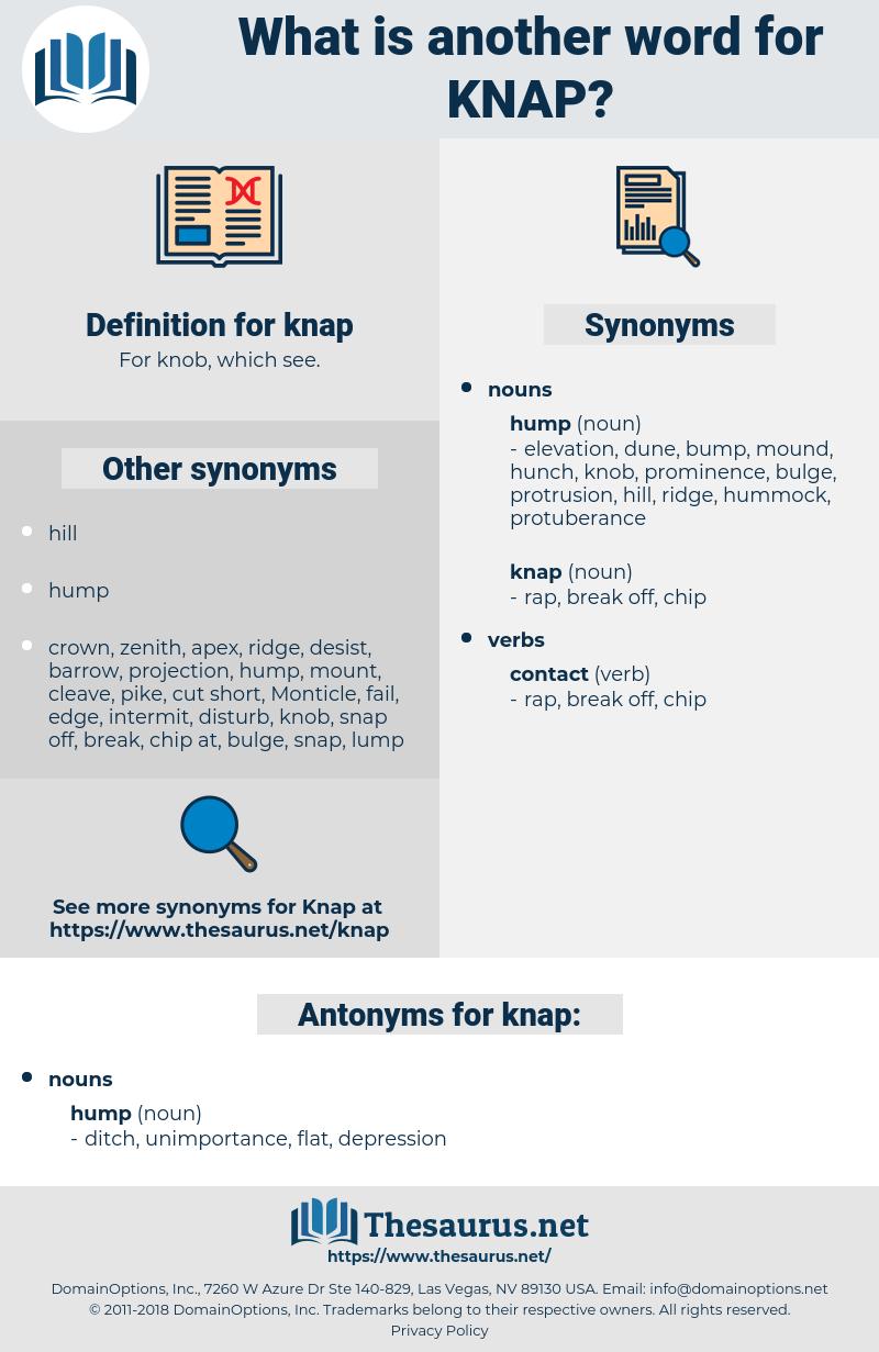 knap, synonym knap, another word for knap, words like knap, thesaurus knap