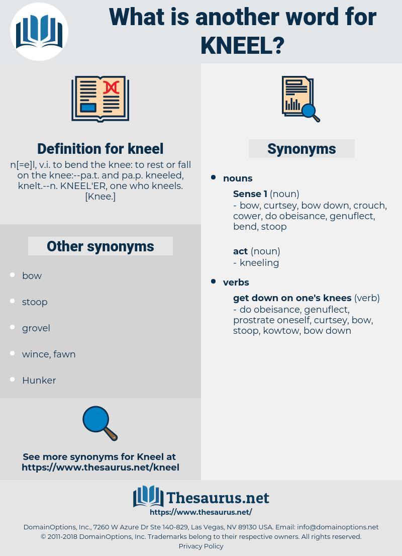 kneel, synonym kneel, another word for kneel, words like kneel, thesaurus kneel