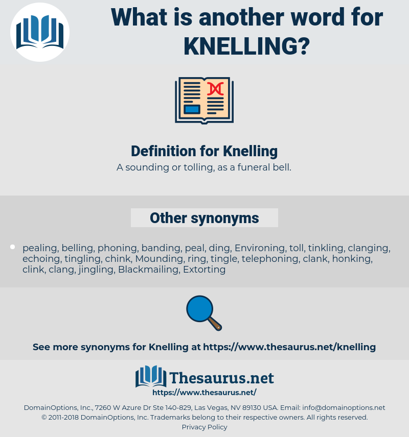 Knelling, synonym Knelling, another word for Knelling, words like Knelling, thesaurus Knelling