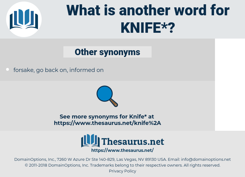 knife, synonym knife, another word for knife, words like knife, thesaurus knife