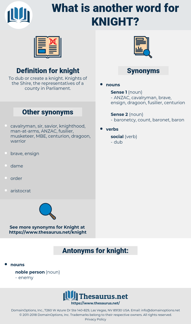 knight, synonym knight, another word for knight, words like knight, thesaurus knight