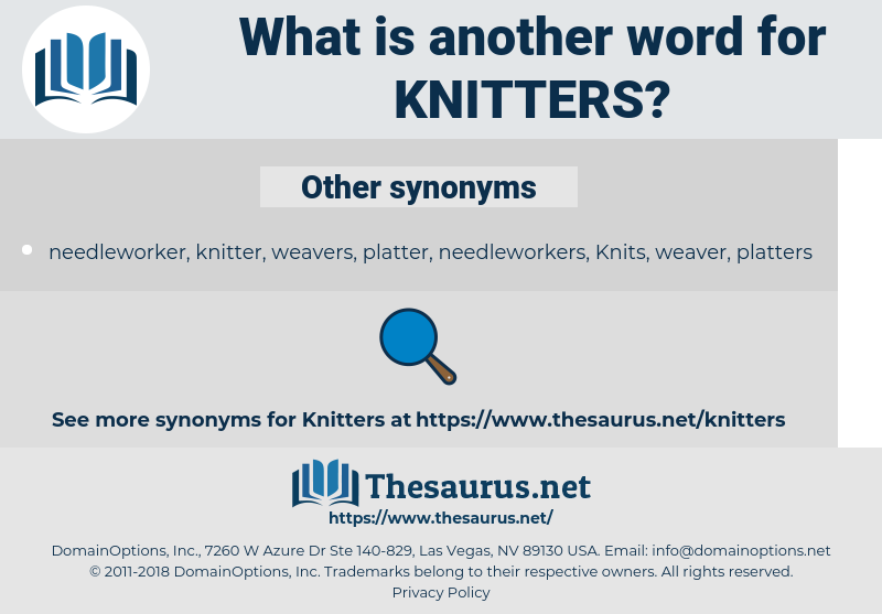 knitters, synonym knitters, another word for knitters, words like knitters, thesaurus knitters