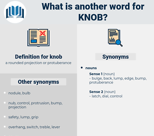 knob, synonym knob, another word for knob, words like knob, thesaurus knob