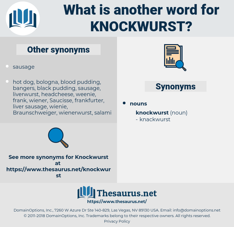 knockwurst, synonym knockwurst, another word for knockwurst, words like knockwurst, thesaurus knockwurst