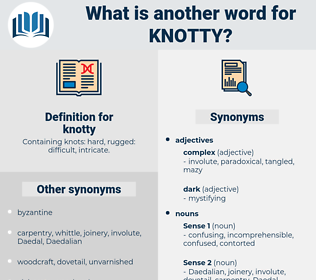 knotty, synonym knotty, another word for knotty, words like knotty, thesaurus knotty