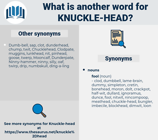 knuckle-head, synonym knuckle-head, another word for knuckle-head, words like knuckle-head, thesaurus knuckle-head