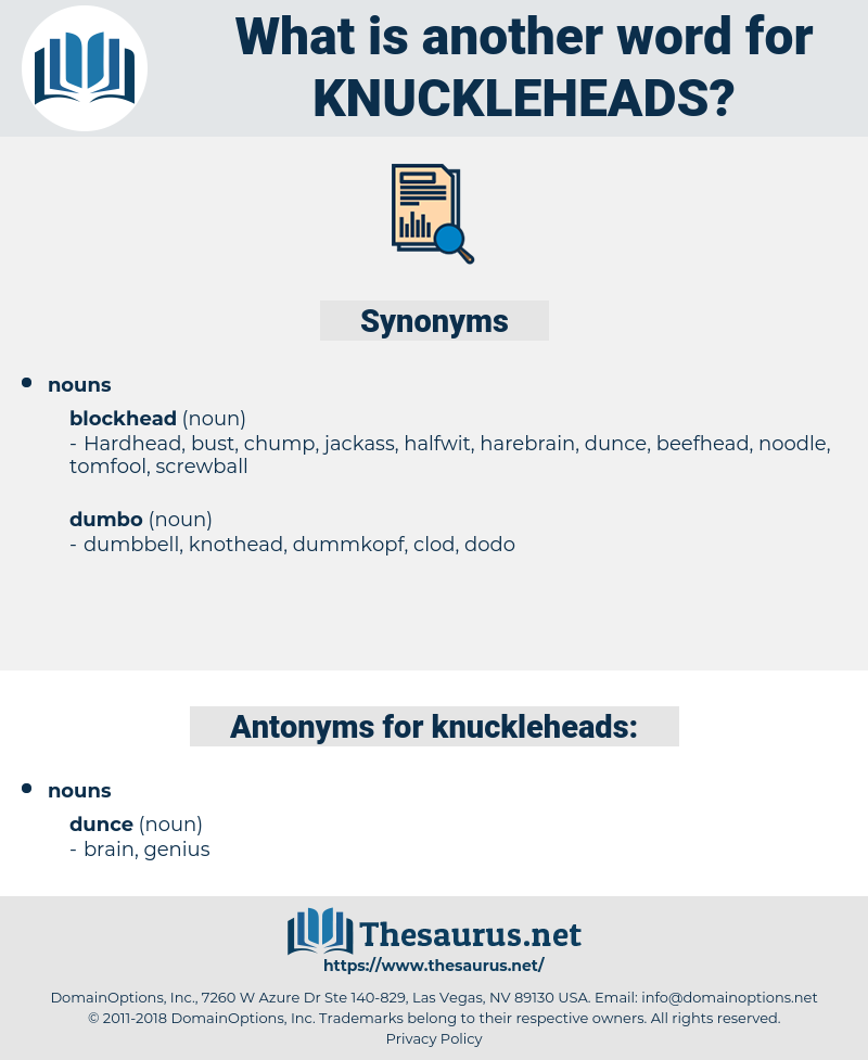 knuckleheads, synonym knuckleheads, another word for knuckleheads, words like knuckleheads, thesaurus knuckleheads