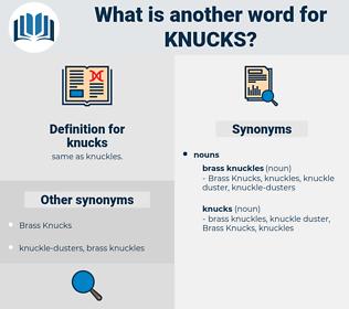 knucks, synonym knucks, another word for knucks, words like knucks, thesaurus knucks