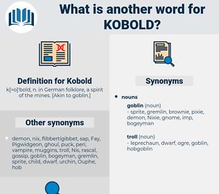 Kobold, synonym Kobold, another word for Kobold, words like Kobold, thesaurus Kobold
