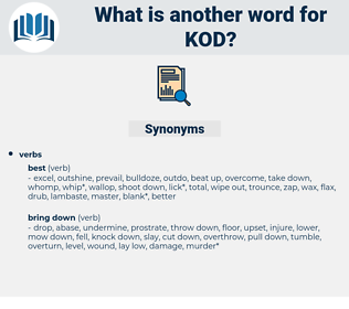 KOD, synonym KOD, another word for KOD, words like KOD, thesaurus KOD