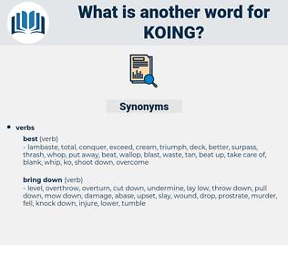 koing, synonym koing, another word for koing, words like koing, thesaurus koing