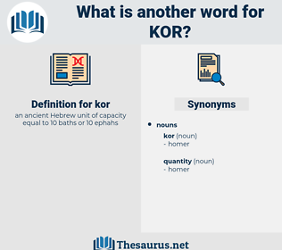 kor, synonym kor, another word for kor, words like kor, thesaurus kor
