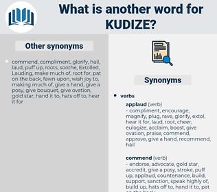 kudize, synonym kudize, another word for kudize, words like kudize, thesaurus kudize