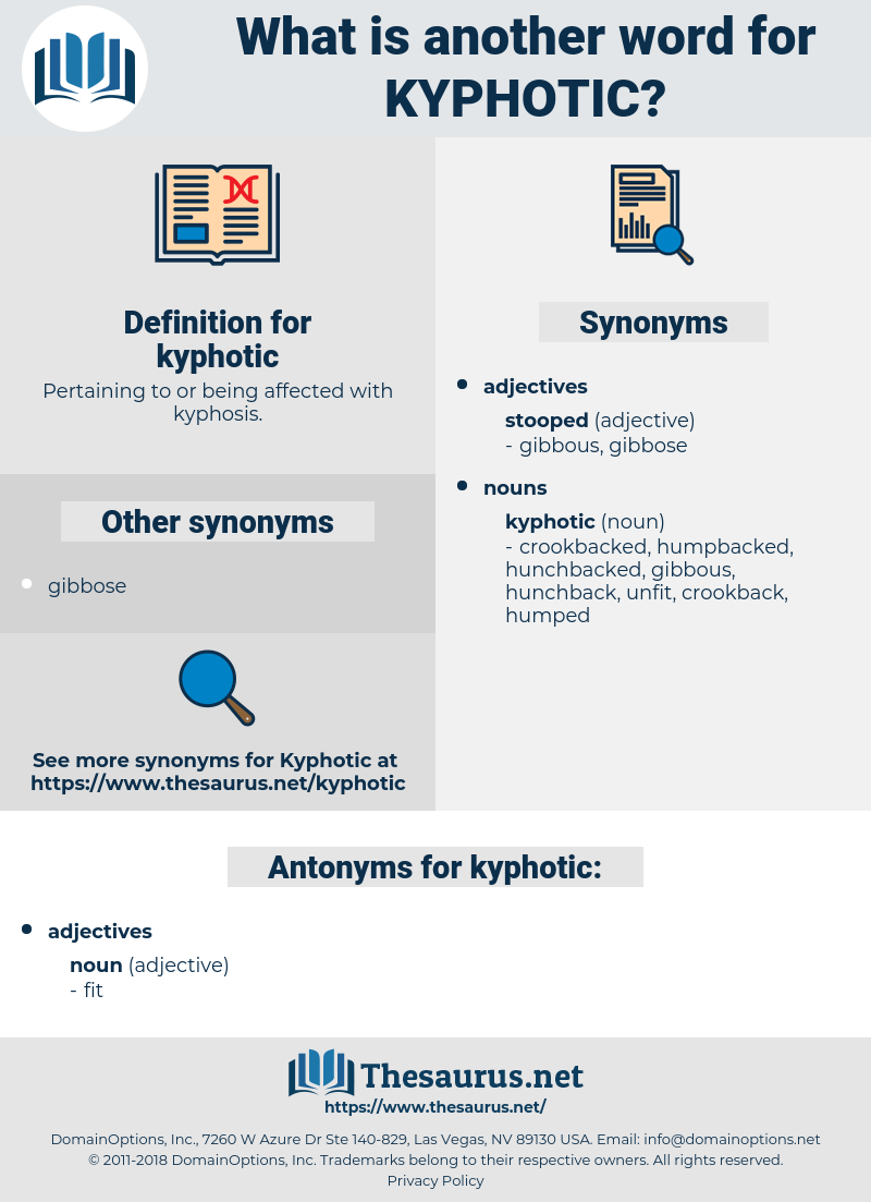 kyphotic, synonym kyphotic, another word for kyphotic, words like kyphotic, thesaurus kyphotic