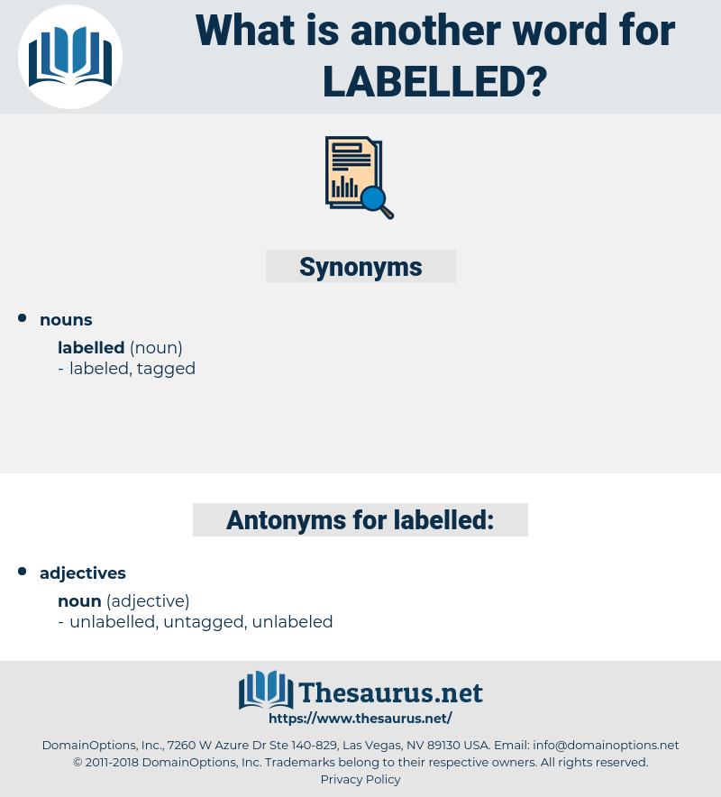 labelled, synonym labelled, another word for labelled, words like labelled, thesaurus labelled