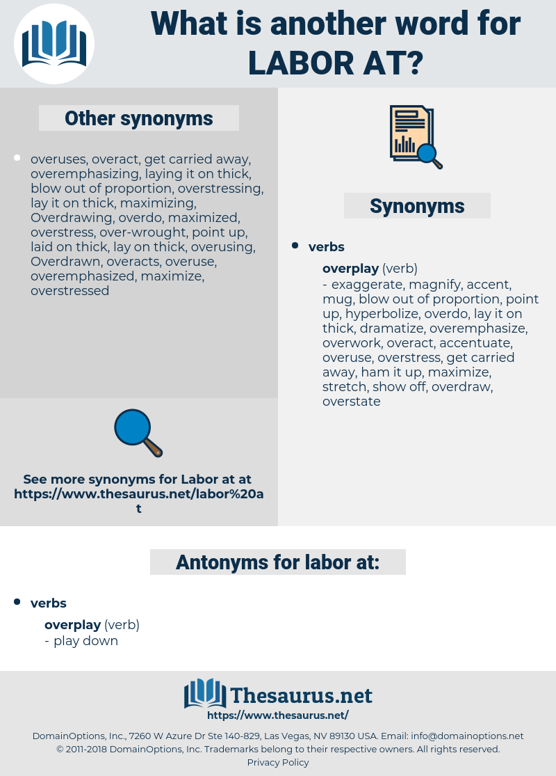 labor at, synonym labor at, another word for labor at, words like labor at, thesaurus labor at