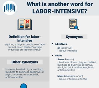 labor-intensive, synonym labor-intensive, another word for labor-intensive, words like labor-intensive, thesaurus labor-intensive