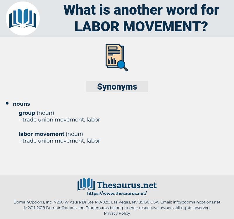 labor movement, synonym labor movement, another word for labor movement, words like labor movement, thesaurus labor movement