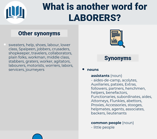 laborers, synonym laborers, another word for laborers, words like laborers, thesaurus laborers