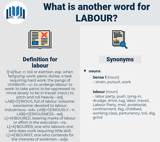 labour, synonym labour, another word for labour, words like labour, thesaurus labour