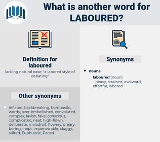 laboured, synonym laboured, another word for laboured, words like laboured, thesaurus laboured