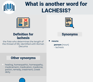 lachesis, synonym lachesis, another word for lachesis, words like lachesis, thesaurus lachesis