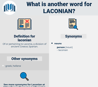 laconian, synonym laconian, another word for laconian, words like laconian, thesaurus laconian